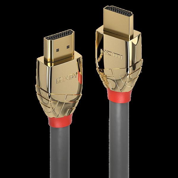 LINDY 15m Standard HDMI Kabel, Gold Line