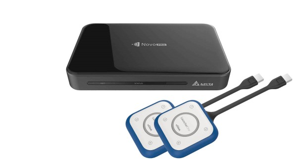 VIVITEK NP2000EUONE2 NovoPro KIT - Wireless Collaboration inkl. 2x LauncherOne