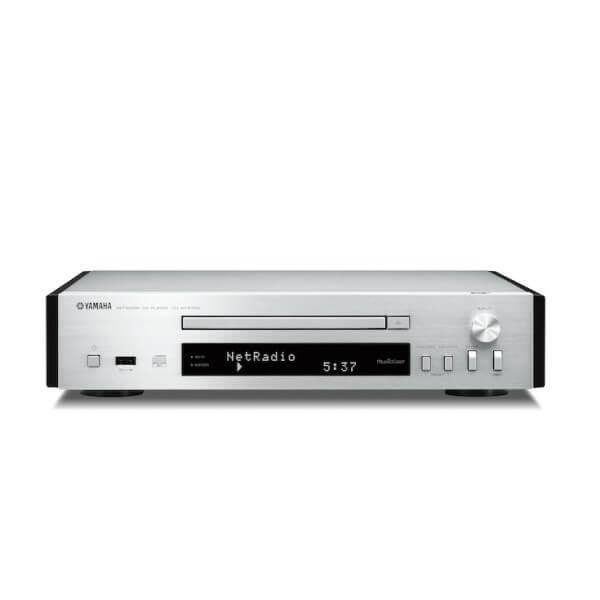 YAMAHA COMPACT DISC PLAYER CD-NT670D SILVER