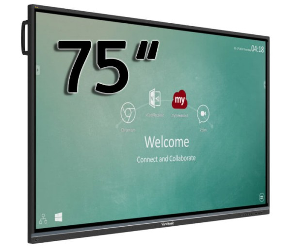 """Viewsonic interactive 4K Touch-Display 75"""" ViewBoard® IFP7550-2EP"""
