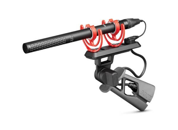 Røde NTG5-KIT, Broadcast-Richtrohrmikrofon-Set, inkl. Pistolengriff, Spezialkabel, Klemme, Windschüt