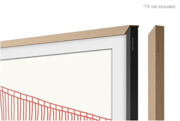 "Samsung Zubehör: The Frame 43"" VG-SCFA43TKBXC passend zu Modell 2021 teak Holzdesign"