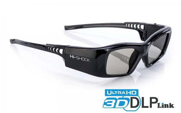 hi-shock 3D-DLP-Link Brille für DLP-Beamer