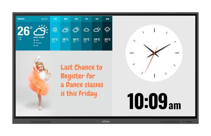 digitales LCD-Panel