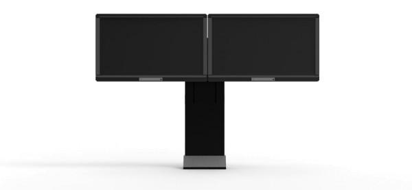 """Robolift eStand 2D 450/160 für zwei LED-Displays bis 55"""""""