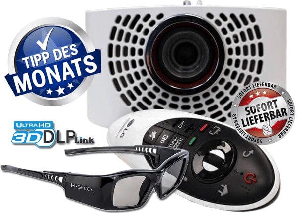LG Largo - Cine4Home-Farbfilter - 3D-Brillen