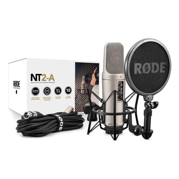 Røde NT2-A, Kondensatormikrofon, inkl. SM6 und XLR-Kabel