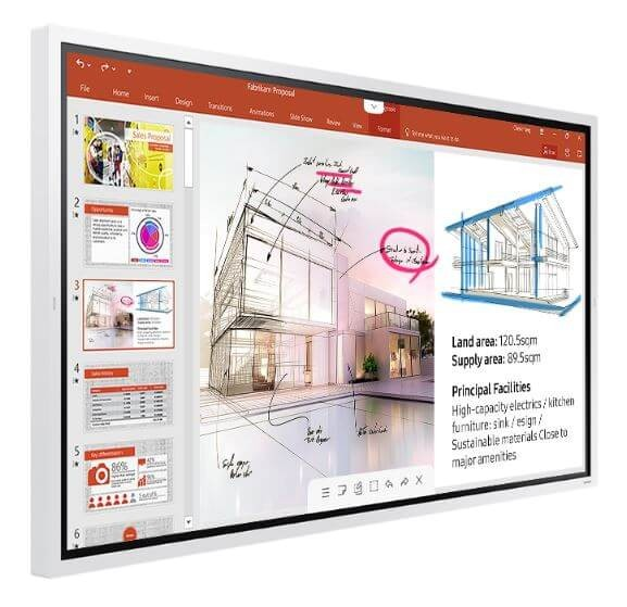"SAMSUNG Flip 65"" WM65R-W LED-Display"