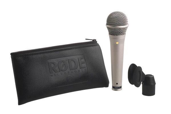 Røde S1, Kondensator-Gesangsmikrofon (hellgrau-satiniert)