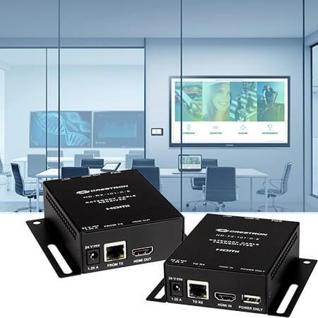 DM-Lite Bundle HD-RX-/ HD-TX-101CE Wandaufbau