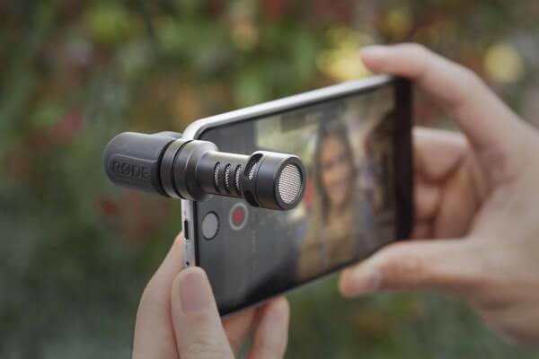 Røde VideoMic Me, Kondensator-Richtmikrofon für Android- und iOS®-Geräte mit TRRS-Anschluss