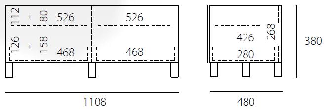 JRL1100S-SL-Abmessungen