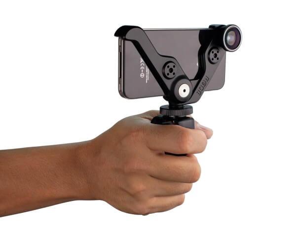 Rødegrip 5+, Multifunktionshalterung plus Zusatzlinsen für iPhone® 5 und iPhone® 5s