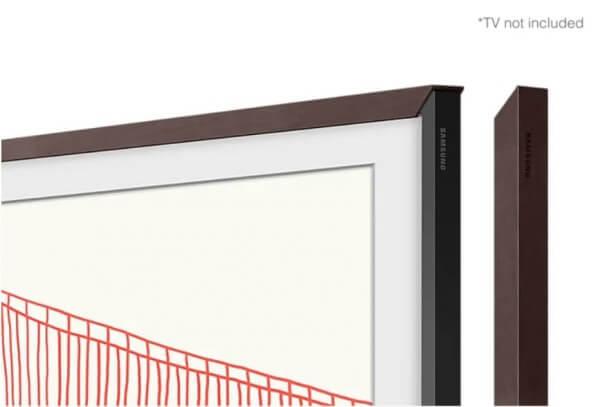 """Samsung Zubehör: The Frame 50"""" VG-SCFA50BWBXC passend zu Modell 2021 braun"""