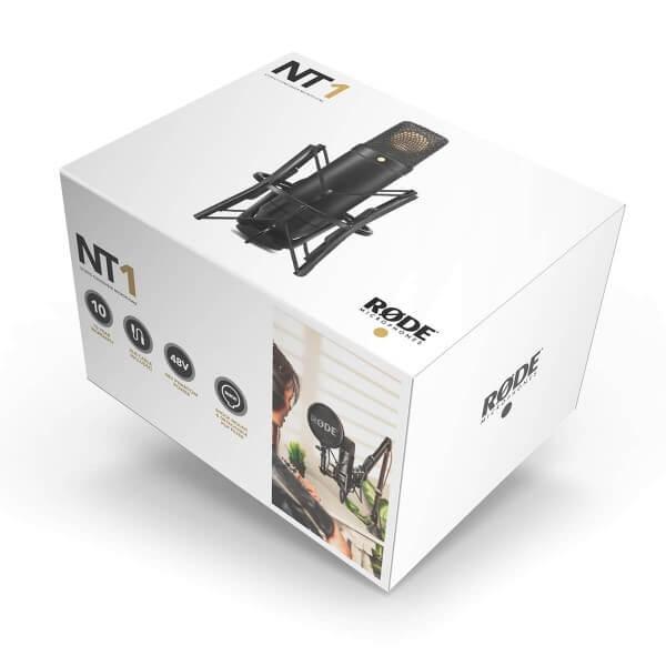 Røde NT1, Kondensatormikrofon, inkl. SM6 und XLR-Kabel