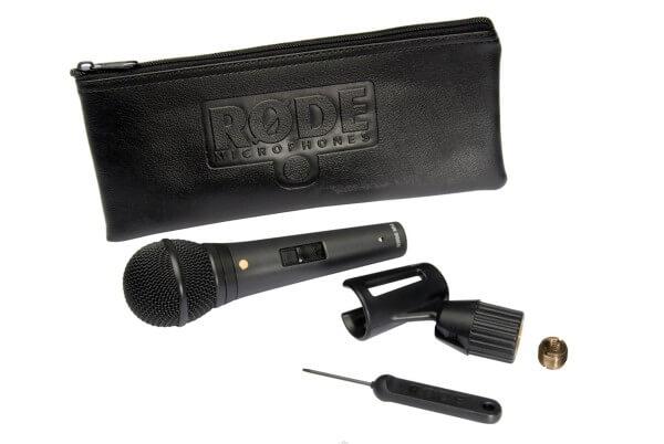 Røde M1-S, dynamisches Gesangsmikrofon mit Schalter