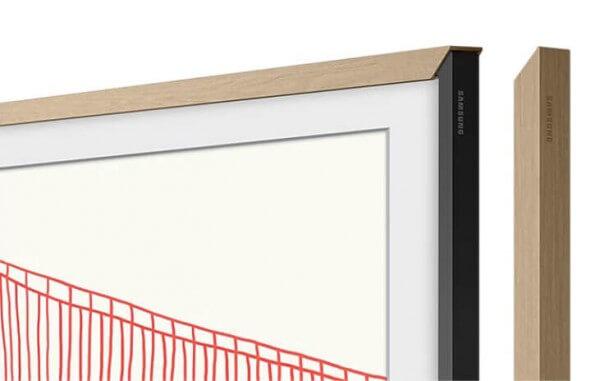 "Samsung Zubehör: The Frame 75"" VG-SCFA75TKBXC passend zu Modell 2021 teak"