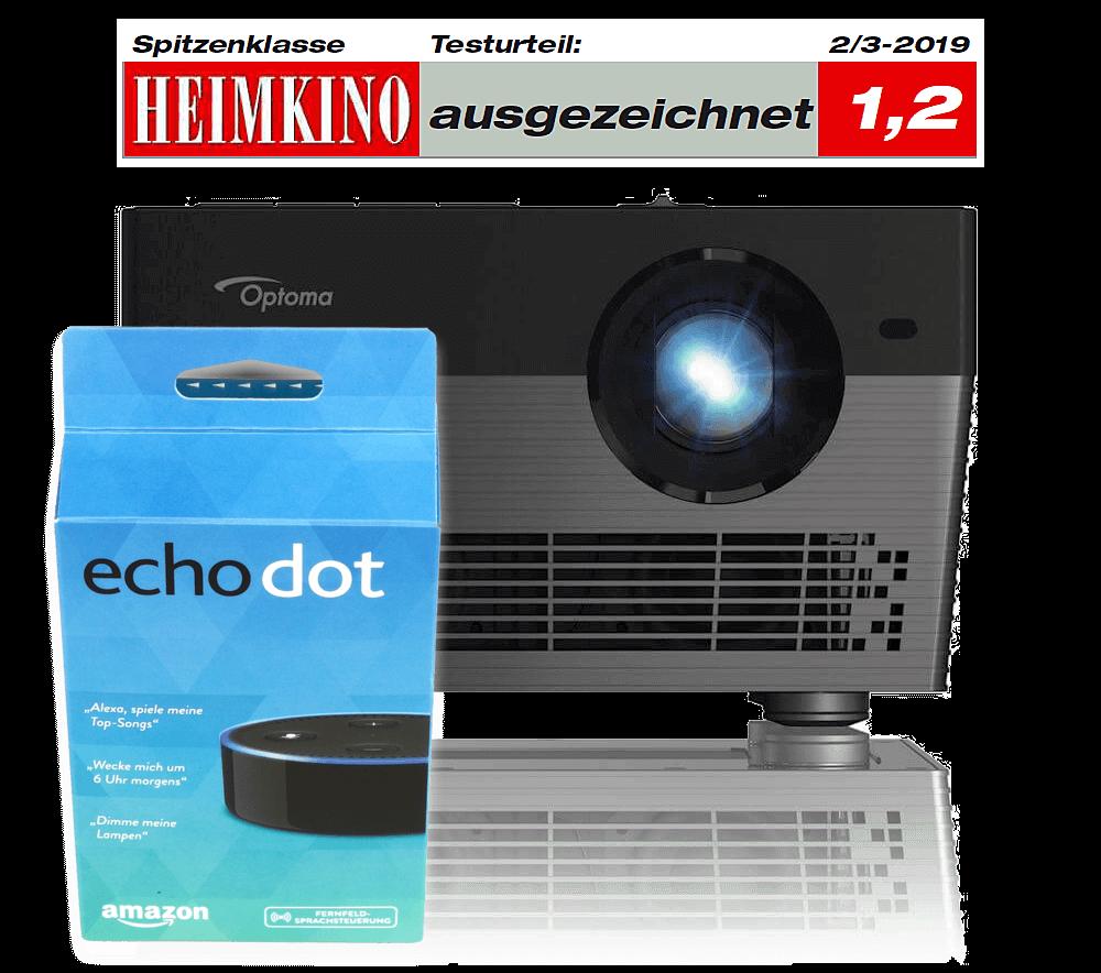 Optoma Uhl55 4k Beamer Mit Led Lichtquelle Erreicht 30000h