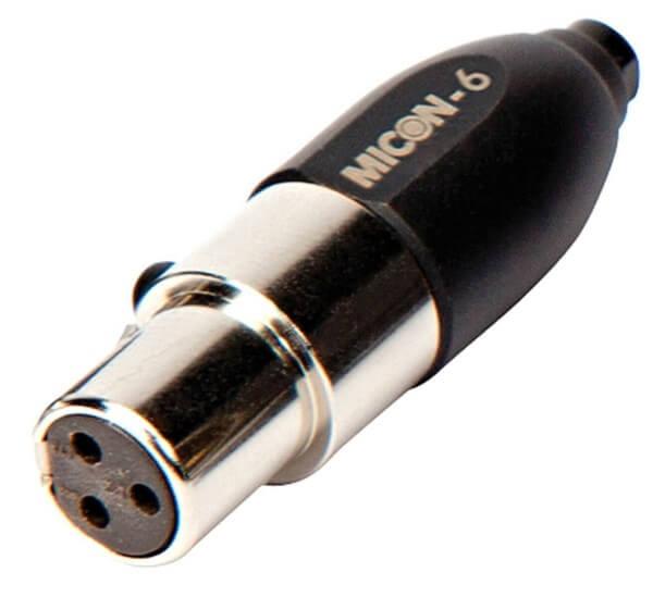 Røde MICON-6, MiCon™-Adapter auf AKG®, für HS-1, PinMic, Lavalier