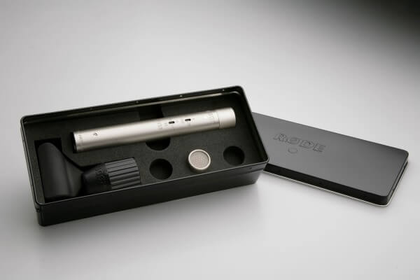 Røde NT55, Kleinmembran-Kondensatormikrofon mit Kugel-Wechselkapsel