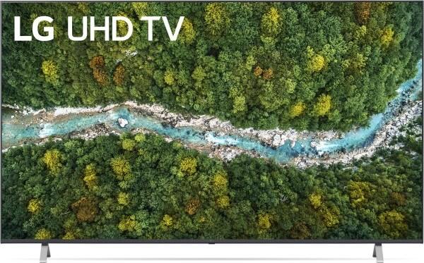"""75"""" LG 4K UHD TV Modell 75UP77009LB (2021)"""
