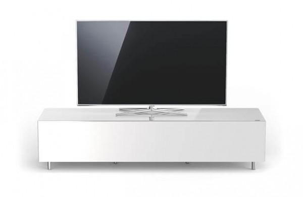 Spectral Just-Racks, breites TV Möbel, weiß, TV freistehend