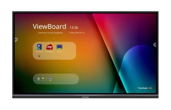 "Viewsonic interactive 4K Display 75"" Vierboard® IFP7550-3"