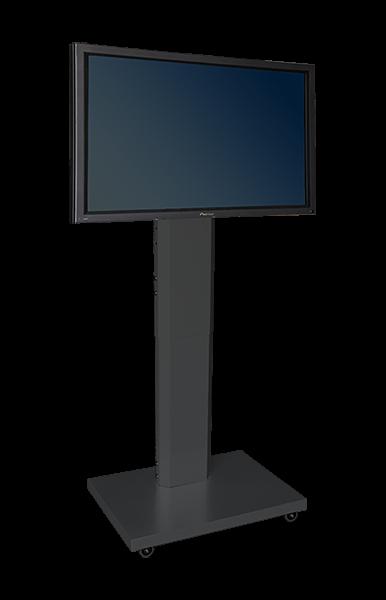 "Robolift mRoll Fix 400/80 für LCD-Displays bis 75"", fixierbar in 1400, 1600 + 1800 mm"