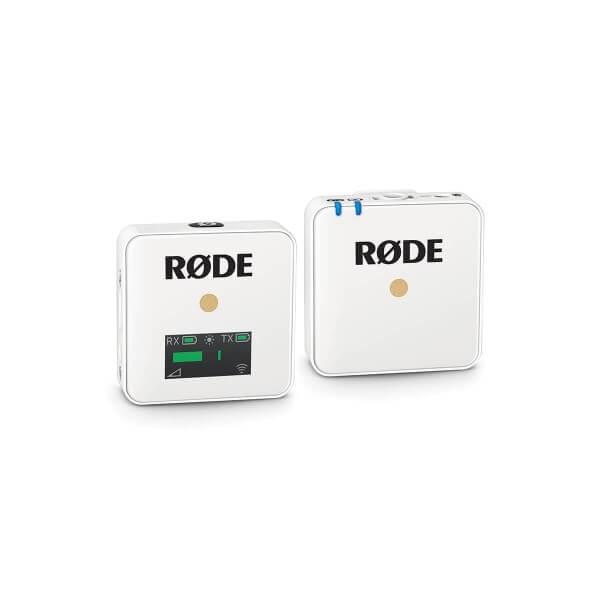 Røde Wireless GO White, digitales Drahtlos-Mikrofonsystem, weiße Ausführung