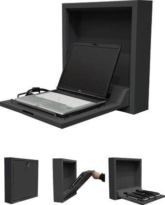 Robolift Laptop PC-Gehäuse schwarz