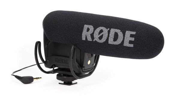 Røde VideoMic Pro Rycote, Kamera-Richtmikrofon mit Rycote®-Schwinghalterung, Batteriespeisung