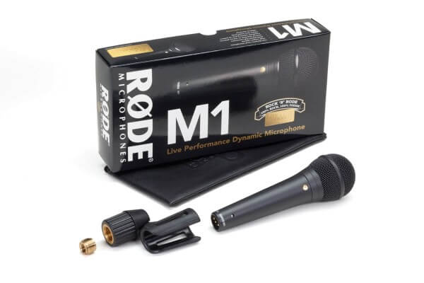 Røde M1, dynamisches Gesangsmikrofon